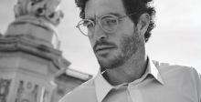 جوسلين يتصدّر حملة نظارات Armani