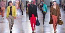 الألوان والأنسجة المختلفة في مجموعة Bottega Veneta