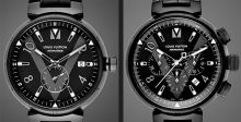 Louis Vuitton تطلّ بحلّة سوداء