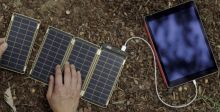 لوحة شمسيّة رقيقة لشحن هاتفك في ساعتين!