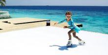 التزلّج على الجليد في جميرا المالديف