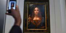 ولي العهد السعودي يشتري لوحة المسيح