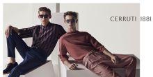 عارضو أزياء جذابون في حملة Cerruti