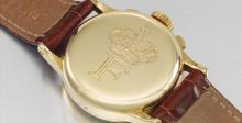 ساعة الملك فاروق نجمة مزاد دبي