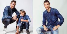 رونالدو وابنه يتصدّران حملة CR7 Denim