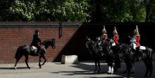 رفاق الأمير هاري في الجيش يحرسون زفافه