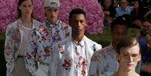 الأرهار والألوان الفاقعة في المجموعة الرجالية لكريستيان ديور