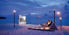 السينما في الهواء الطلق ميزة الفنادق الفخمة