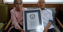زوجان يابانيان يجمع عمرهما ٢٠٨أعوام