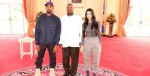 لماذا أهدى وست وكارداشيان الرئيس الأوغندي زوج أحذية رياضية؟