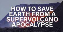 ناسا في محاولة لتبريد بركان قد ينفجر!