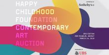 مؤسسة الطفولة السعيدة تنظّم الدورة الثالثة من مزادها للفن