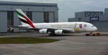 عام زايد يزيّن طائرات الامارات