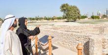 محمد بن راشد في موقع جميرا الأثري