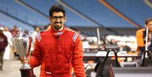 بن خنين يخوض حلم أبطال السائقين في السعودية