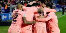 هل يُتوّج برشلونة بطل الكرة الاسبانية؟