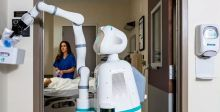 الممرضة الروبوتية في خط المواجهة