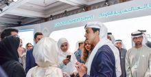 منصور بن زايد يتوج الفائز في مبادرة حلول شبابية