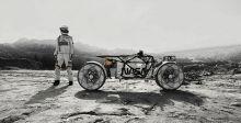 دراجة نارية كهربائية للفضاء