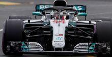 منافسة الفورمولا١ تنحصر في فريق مرسيدس
