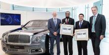 Bentley  ترسي معايير دولية جديدة