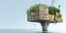 السكن في المنصات البحرية بعد انتهاء عصر النفط