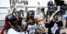 نشطاء تغير المناخ يطالبون بإلغاء أسبوع الموضة في لندن