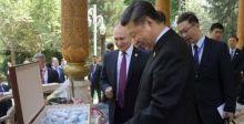 بوظة روسية من بوتين لشي فردّ بهدية من الشاي الصيني