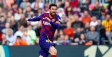 ميسي في رباعية أهدافه يرضي جمهور برشلونة