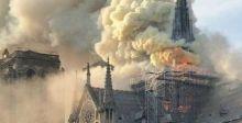 التحقيقات جارية لتحديد أسباب حريق كاتدرائية باريس