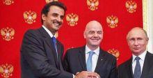روسيا تسلم مهام استضافة كأس العالم إلى قطر