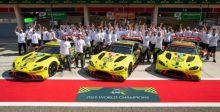 أستون مارتن تحصد لقباً عالمياً آخراً مع سيارات فئة جي تي