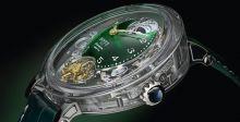 بوفيه تُطلق ساعة جديدة  مع ميناء من الكوارتز الأخضر