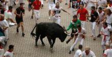 جرحى في آخر أيام مهرجان الثيران في إسبانيا
