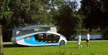 السيارة لبيت متنقّل على الطاقة الشمسية