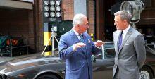 جيمس بوند يستضيف الأمير تشارلز في تصوير بوند٢٥