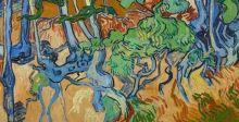 """لوحة """"الوداع"""" التي رسمها فان جوج قبل انتحاره"""