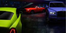 رولز-رويس تضفي ألواناً جريئة  على سيارات بلاك بادج مع ثلاثية نيون نايتس