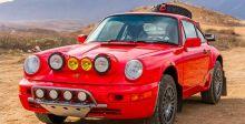 فيراري وسيارة السفاري الحمراء