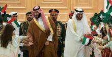 بحفاوة تحمل دلالات محمد بن زايد يستقبل محمد بن سلمان