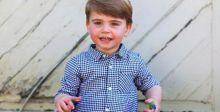 الأمير لويس في عيد ميلاده