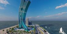 برج مشابك الغسيل في دبي كأكبر قطعة فنية