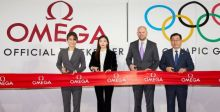 OMEGA تفتتح معرضها الأولمبي في سيول