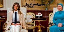 مواقف جريئة لميلانيا ترامب تعلنها في مصر